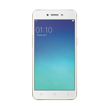 OPPO A37F Smartphone - Rose Gold [16GB/ 2GB]
