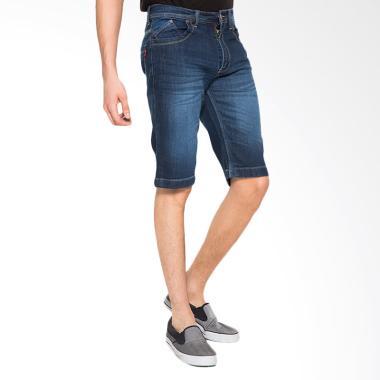 2Nd RED 151625 Short Pants Denim - Dark Blue