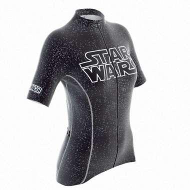 harga Jersey Sepeda - Bioracer Star Wars Logo Woman Jersey - Black S black Blibli.com