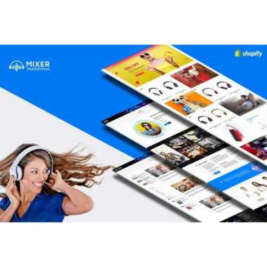 harga Shopify Web Mixer - Headphone & Audio Responsive Theme Blibli.com