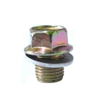 harga Raja Motor Baut Tutup Oli Honda OverSize 14 dengan Ring Alumunium - Aksesoris Motor Blibli.com