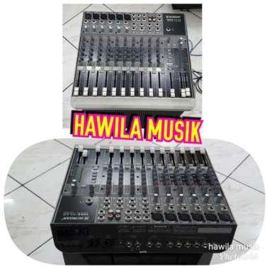 harga Mixer Import MORGAN 1402-VLZ3 1402VLZ3 6-Channel ORIGINAL HITAM Blibli.com
