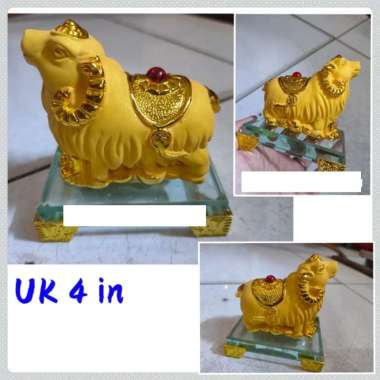 harga Patung Kambing Pasir Emas Fengshui gold Blibli.com