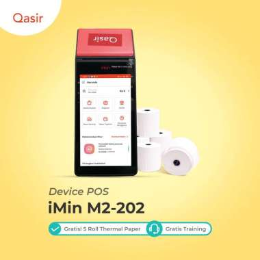 harga Printer Thermal Bluetooth Portable iMin M2 202 Android POS Mesin Kasir Blibli.com