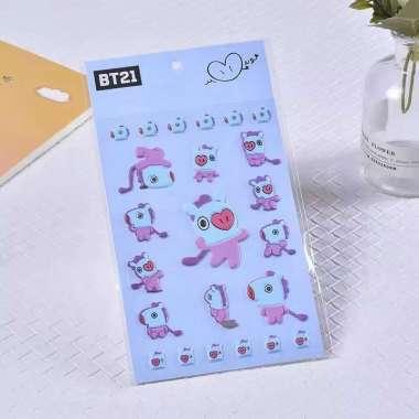 harga OEM ONE - C2 Stiker Bubble Kartun 3D Sticker untuk Handphone / Laptop / Dekorasi STICKER BIRU KUDA Blibli.com