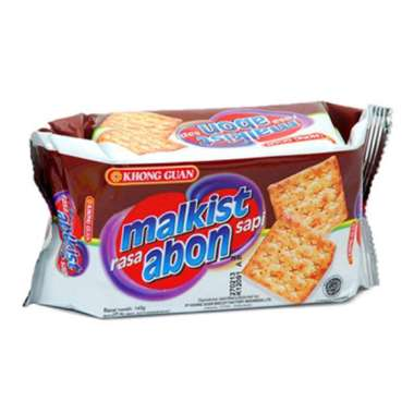 harga Khong Guan Malkist Abon Crackers 135G Blibli.com