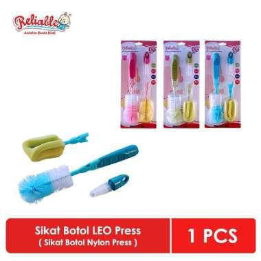harga Sikat botol susu bayi dan dot Reliable anti gores dan lembut Leo Blibli.com