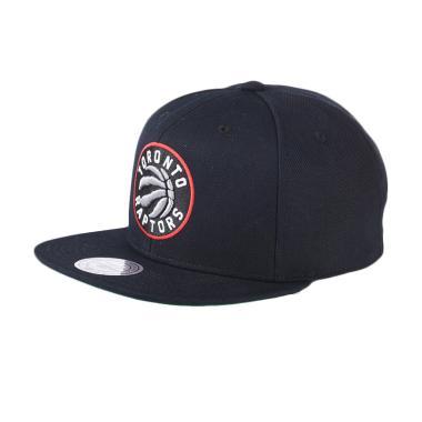 Mitchell n Ness NBA Wool Solid 2 Snapback Black Toronto Raptors NT78Z