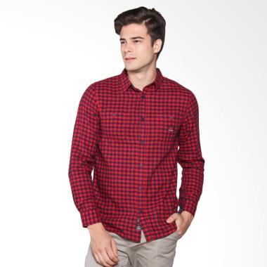 3SECOND Shirt Pria - Red 102061711