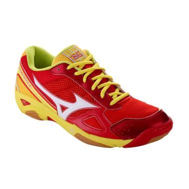 Mizuno Wave Twister 3 Sepatu Volley Ball - Red V1GA147261