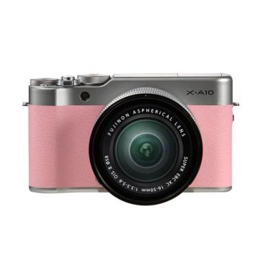Fujifilm X-A10 16-50mm - Pink - 16.3MP+ FREE SDHC 16GB