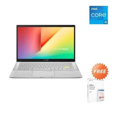 harga Asus S433EQ AM554IPS i5 1135G7 8GB 512ssd MX350 2GB W10+OHS 14.0FHD IPS WHITE Blibli.com