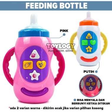 harga Toylogy Mainan Bayi Baby Feeding Bottle Botol Air Susu Light Music Lampu Musik Blibli.com