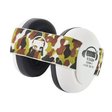 EMS Earmuff 4 Baby Bub White - Army Camo