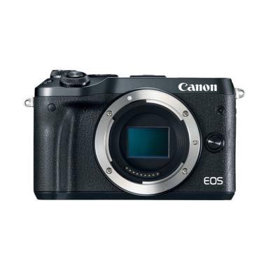 Canon EOS M6 Body Only Kamera Mirrorless - Black