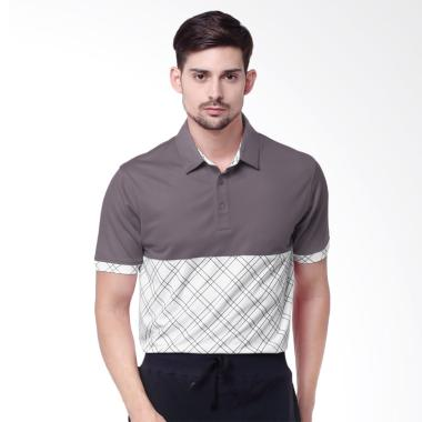 Dome Polo Baju Golf - Titanium Grey