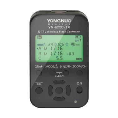Yongnuo YN 622C Kit E TTL Trigger Aksesoris Flash Kamera
