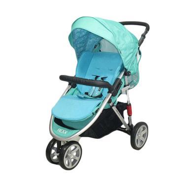 harga Cocolatte CL 481 Rexx Baby Stroller - Blue Blibli.com