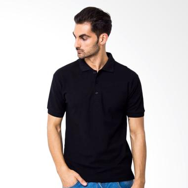 Yari's Fashion Kaos Kerah Polo Shirt - Hitam