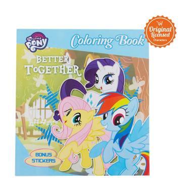 Jual Kertas Mewarnai My Little Pony Bliblicom
