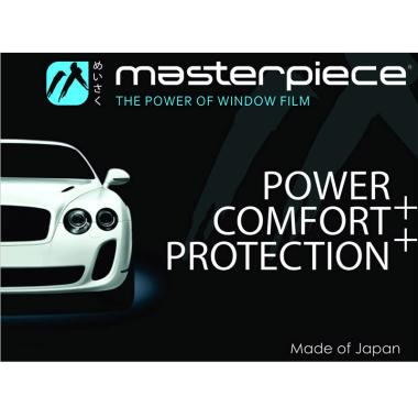 Masterpiece Medium Car Window Film [Full / Garansi 7 Tahun]