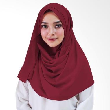 Milyarda Hijab Zenia Jilbab Instan - Maroon