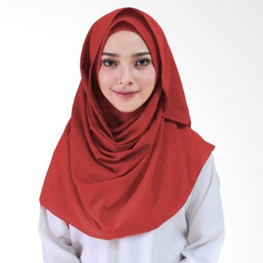 Milyarda Hijab Orcida Hijab Instan - Merah