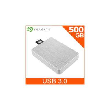 (seagate)Seagate One Touch 500GB External SSD Morning Fog White (STJE500402)