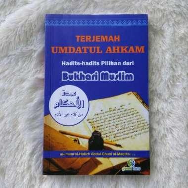 Penerbit Gema Ilmu Buku Terjemah Umdatul Ahkam Hadits Hadits Pilihan Dari Bukhari Muslim Buku religi
