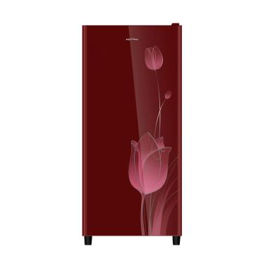 Polytron Belleza 2 PRO18KTR One Door Refrigator Kulkas - Red [180 L]