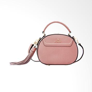 Bonia Basic Crystina Tas Wanita - Light Pink