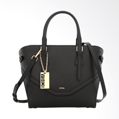 Bonia Dreamy Satchel Bags - Black