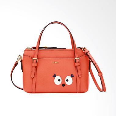 Bonia Dede the Deer Satchel Bags - Orange