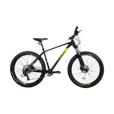 Polygon Xtrada 7.0 Tahun 2018 Sepeda MTB - Black Yellow [27.5 Inch]