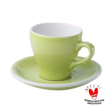 Agung Keramik Tulip Cangkir Kopi - Soft Green