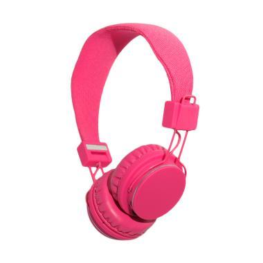 harga REXUS X1 Bluetooth Headset Pink Blibli.com