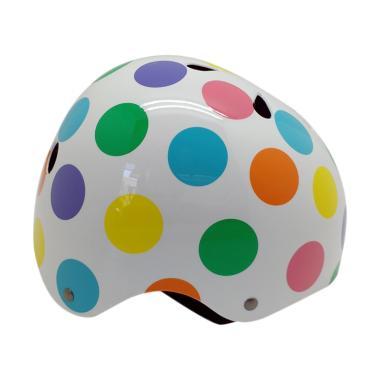 Mexel 001 Helm Anak - Pastel Dotty