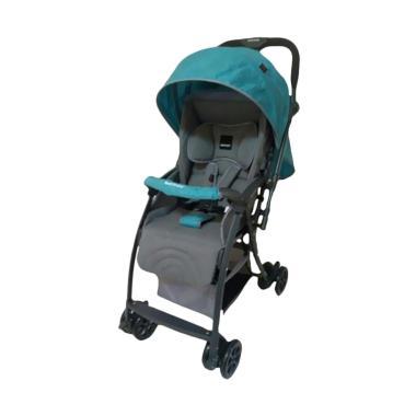 BabyDoes CH817i M EasyLite Kereta Dorong Bayi - Biru