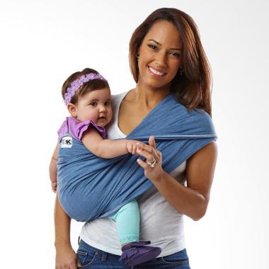 Baby K'tan Original Denim Baby Carrier [Size S]