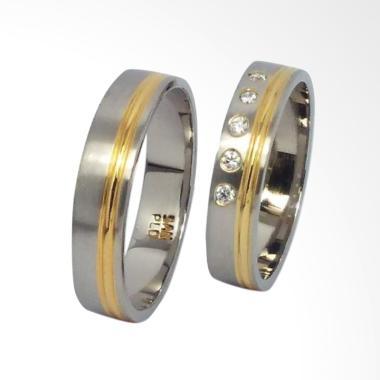 San950 Perak R4100 Cincin Couple