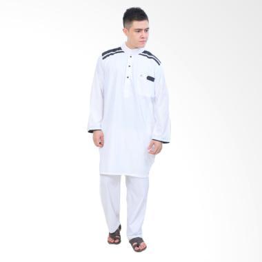 JCFashion Cordova Stelan Muslim Gamis Pria - White