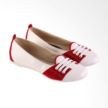 Garsel Fashionable Casual Shoes Wom ... 546 Sepatu Wanita - White