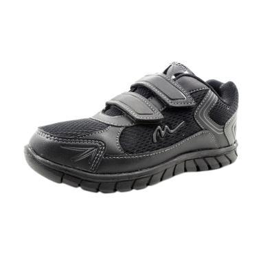 Ardiles Mickelson Sidu Sepatu Sekolah Anak - Hitam