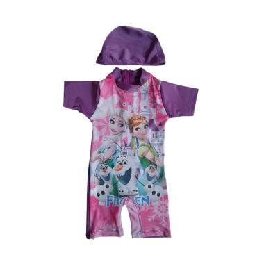 Rainy Collections Karakter Frozen Baju Renang Bayi - Ungu