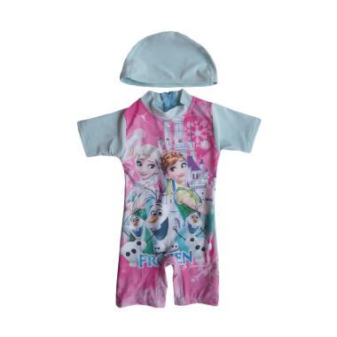 Rainy Collections Karakter Frozen Baju Renang Bayi - Biru Muda