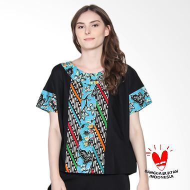 Batik Segoro Mas SM 076 #4 Camaline T-Shirt Batik Wanita