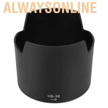 Alwaysonline hb-38 Hood Lensa Kamera Untuk Nikon AF-S Micro 105mm F - 2.8g IF-ED VR import