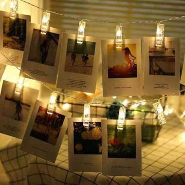 harga ANBLUB Lampu Hias Dekorasi Clip String 20 LED 2 Meter Warm White 0606 Warm White Blibli.com