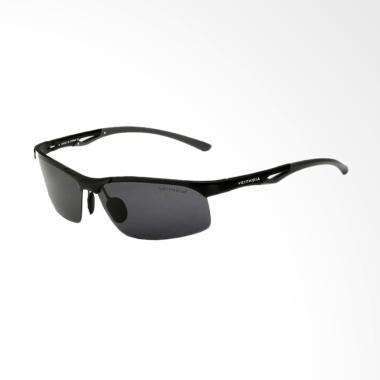 Veithdia 6591Lensa Polarized Kacamata - Black