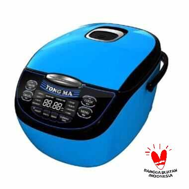 YONG MA YMC 116 Magic Com Digital - Biru [2 L] RICE COOKER